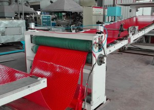 PVC Antislip Hollow Mat Machine