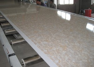 Super Purchasing for WPC Floor Making Machine -