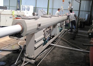 Chinese wholesale Pe Wpc Floor Decking Profile Machine -