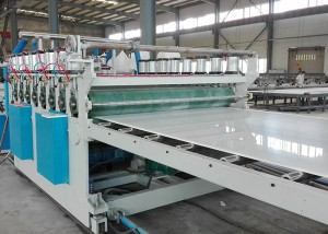 2018 High quality Drainage Geo Mat Machine -