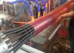 Spiral PVC Flexible Hose Production Line