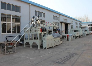 PVC Zigzag And S Mat Production Line